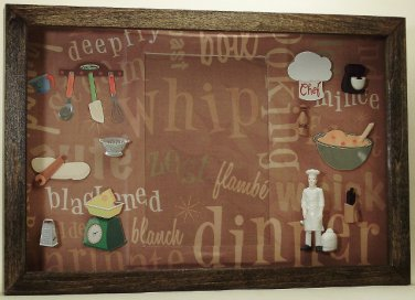 Chef Picture/Photo Frame 7231