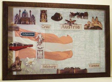 Austria Picture/Photo Frame 11-589