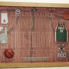 Milwakee Pro Basketball Picture/Photo Frame  28-004