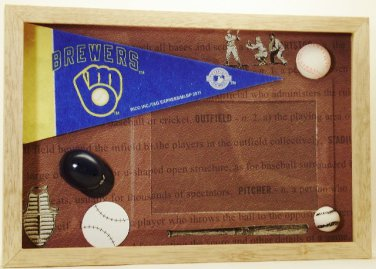 Milwaukee Pro Baseball Picture/Photo Frame 27-000