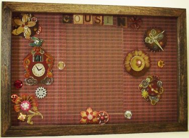 Cousin Picture/Photo Frame 3581