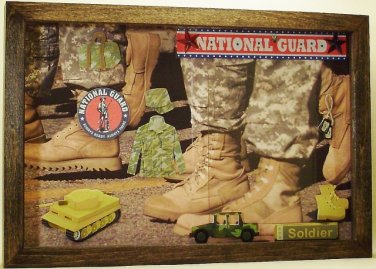 National Guard 4x6 Picture/Photo Frame 6135