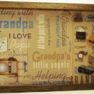 Grandfather Picture/Photo Frame 3587