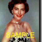 16X20 AVA GARDNER RARE COLOR VINTAGE PHOTO PRINT
