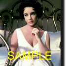16X20 ELIZABETH TAYLOR RARE COLOR VINTAGE PHOTO PRINT