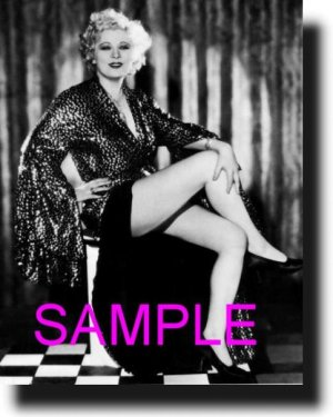16X20 MAE WEST 1932 RARE VINTAGE PHOTO PRINT