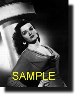 8X10 JANE RUSSELL 1948 RARE VINTAGE PHOTO PRINT