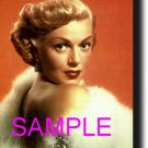 8X10 LANA TURNER RARE COLOR VINTAGE PHOTO PRINT