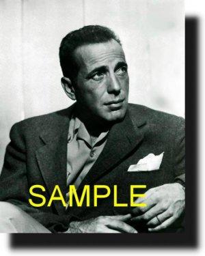 8X10 HUMPHREY BOGART 1941 RARE VINTAGE PHOTO PRINT