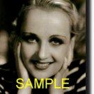 16X20 CAROLE LOMBARD GICLEE CANVAS PHOTO PRINT