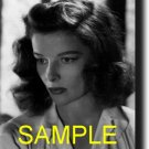 16X20 KATHARINE HEPBURN GICLEE CANVAS PHOTO PRINT