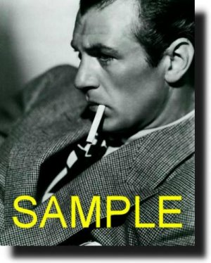 16X20 GARY COOPER 1934 GICLEE CANVAS PHOTO PRINT