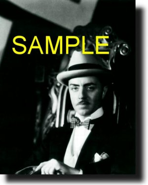 16X20 WILLIAM POWELL 1929 GICLEE CANVAS PHOTO PRINT