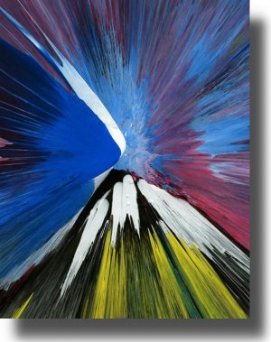 16X20 ORIGINAL ABSTRACT GICLEE CANVAS PRINT 025