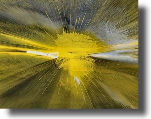 16X20 ORIGINAL ABSTRACT GICLEE CANVAS PRINT 035