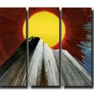 32X60 ORIGINAL ABSTRACT GICLEE CANVAS PRINT 071