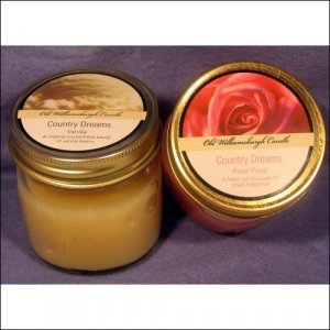 Highly Scented Candles by Old Williamsburgh