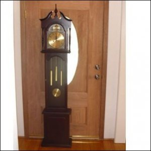 Wood Grandfather Clock-6 foot high
