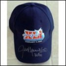 Autographed Authentic XLI Super Bowl Cap