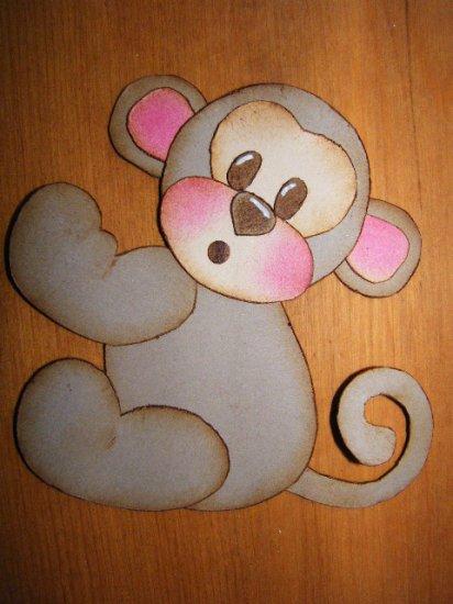 *Monkey Blush*~Tear Bear Paper Piecing***