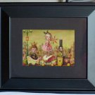 MARK RYDEN THE MEATTRAIN FRAMED RARE LOWBROW LINCOLN