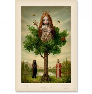 """Mark Ryden """"Tree of Life"""" Signed and Numbered Edition of 500 with Certificate of Authenticity"""