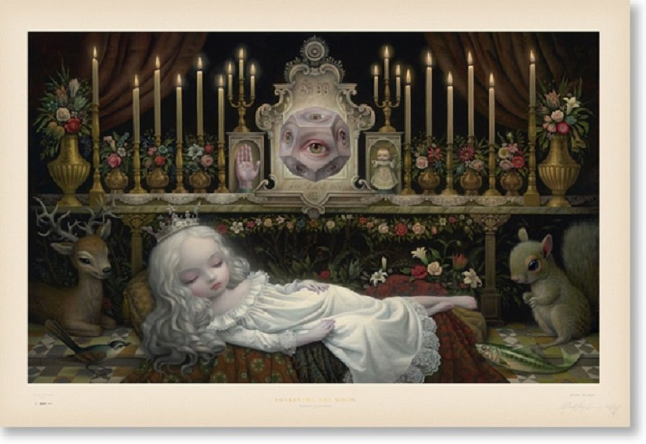 """Mark Ryden """"Awakening The Moon"""" Signed and Numbered Edition of 500 with Certificate of Authenticity"""