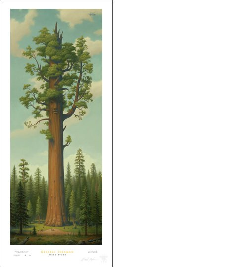 "Mark Ryden ""General Sherman"" Signed and Numbered Edition with Certificate of Authenticity"