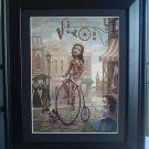 "Mark Ryden ""Main Street USA"" Bicycle Little Girl Lowbrow Art"