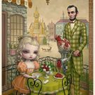 "Mark Ryden ""Grinder"" Official Porterhouse Miniature Microportfolio Print"