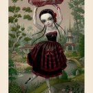 "Mark Ryden ""Meat Dancer"" Official Porterhouse Miniature Microportfolio Print"