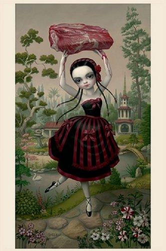 "Mark Ryden ""Meat Dancer"" Official Porterhouse Miniature Microportfolio Print"