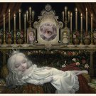 "Mark Ryden ""Awakening The Moon"" Official Porterhouse Miniature Microportfolio Print"