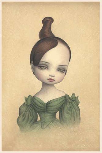 "Mark Ryden ""Josephine"" Official Porterhouse Miniature Microportfolio Print"