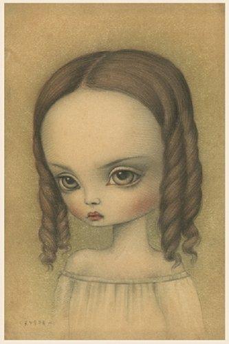 "Mark Ryden ""Jeune Femme"" Official Porterhouse Miniature Microportfolio Print"