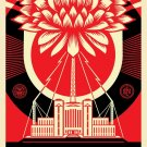 Shepard Fairey Obey Giant Green Power Signed Lithograph