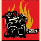 Shepard Fairey Obey Giant Print and Destroy Signed Lithograph