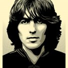 Shepard Fairey Obey Giant Poster For George Beatles George Harrison (Silver) Ed.