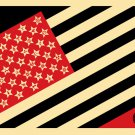 Shepard Fairey Obey Giant Mayday Flag 2010 Signed and Numbered