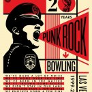 Shepard Fairey Obey Giant Punk Rock Bowling and Music Festival 20th Anniversary