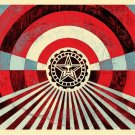Shepard Fairey Obey Giant Tunnel Vision (Blue) Signed & Numbered