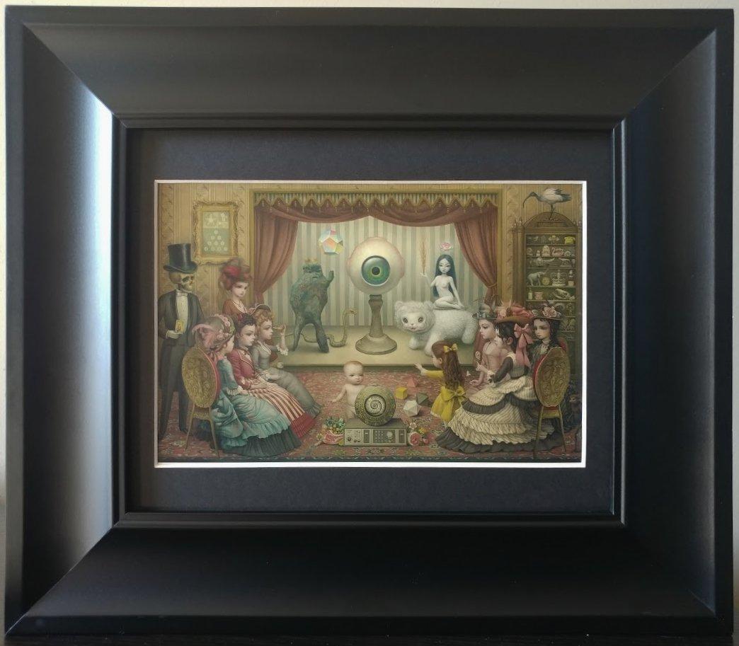 "Mark Ryden ""The Parlor"" Beautiful Framed Lowbrow Artwork"