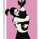 Banksy Bomb Hugger Canvas Art Print