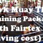 1 Week Fairtex Muay Thai Training Private Fan 2 Person