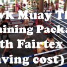 1 Week Fairtex Muay Thai Training Private Fan 3 Person