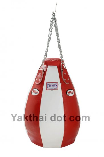 TWINS Teardrop Heavy Bag Full Leather Unfilled - PPL size M