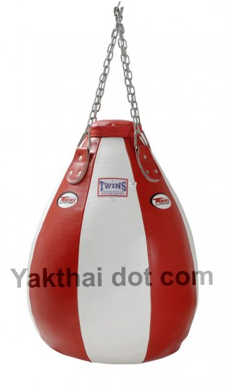 TWINS Teardrop Heavy Bag Full Leather Unfilled - PPL size L