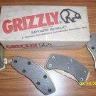 GRIZZLY Premium Semi-Metallic Disc Brake Pad Set D191