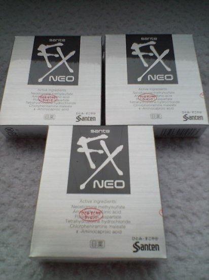 Japan Eye drops - Santen NEO FX SUPER MINTY *3 Boxes* FREE SHIPPING!