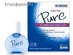NEW! Japanese eyedrops Sante PURE eye drops Japan FREE SHIPPING